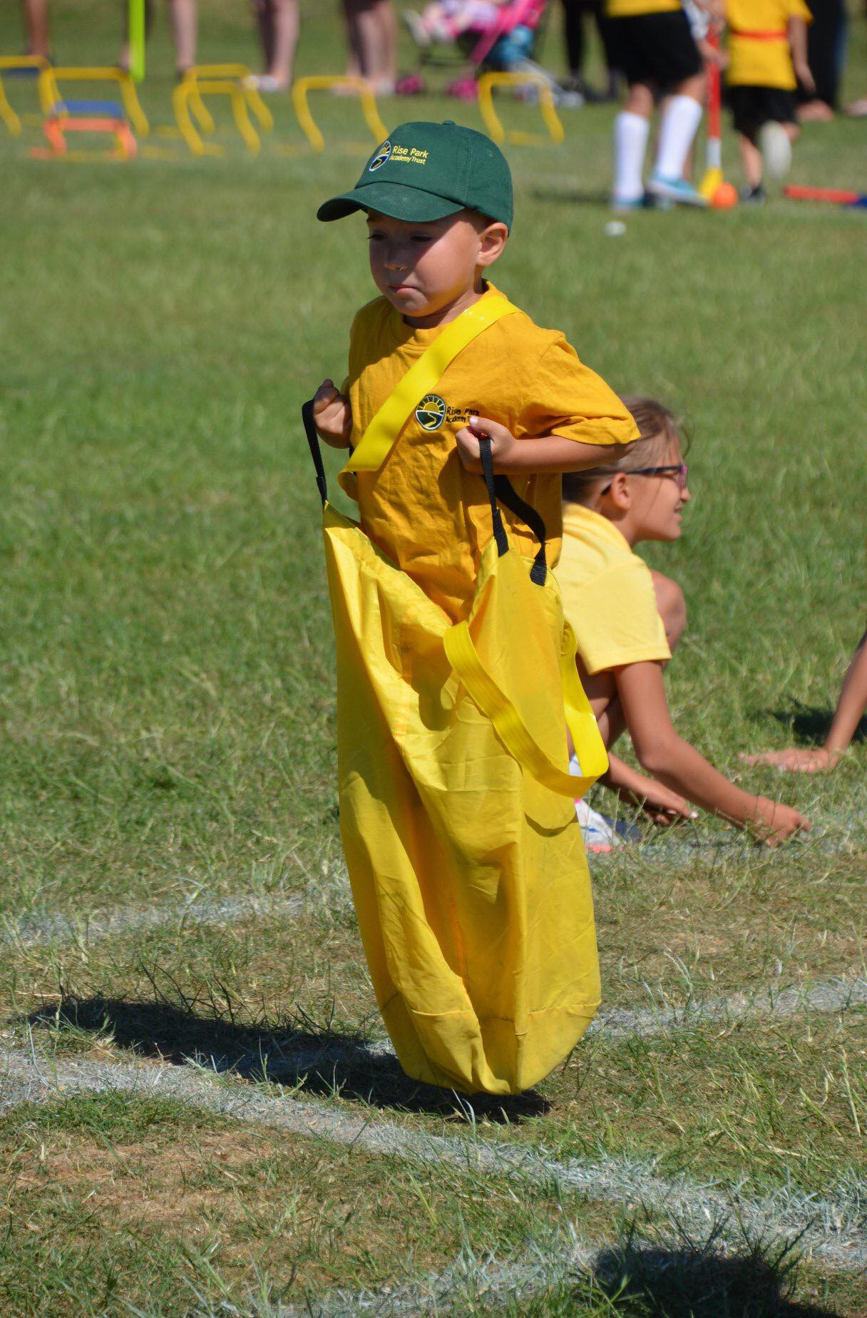 Oakley at school sports day
