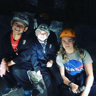 The Shananan's Caving