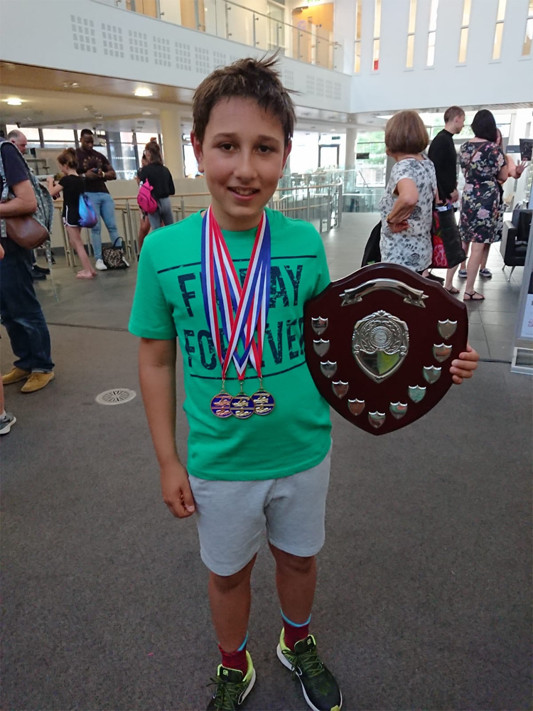 Max swimming competition